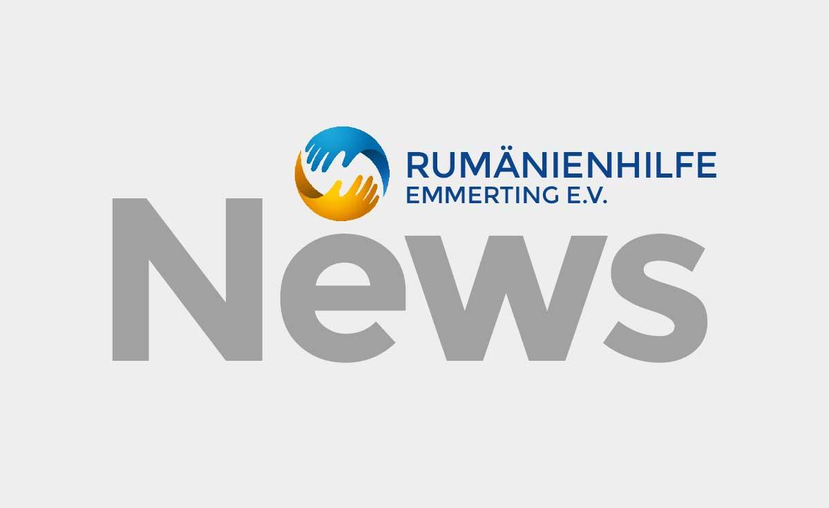 Rumänienhilfe Emmerting. e.V - News
